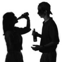 Image of Teens Drinking